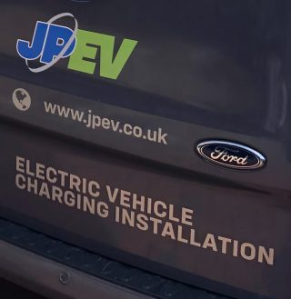 JPEV Electrical vehicle chargers by JP Electrical, Leeds.