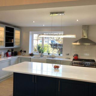 Finished off a large kitchen dining room refurbishment in Collingham today. Looks fantastic. #jpelectrical jpelectricalleeds #electriciansinleeds #electriciansincollingham #kitchenrefurb #lightingandpower #electricansnorthleeds #electricianswetherby