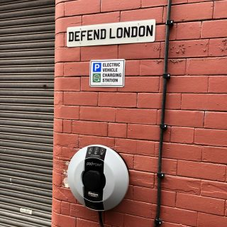 A new 3 phase, 22 kilo watt workplace charger at Manchester for clothing brand Defend London. #jpev #jpelectricalleeds #jpelectrical #jpev #electricvehiclechargers #carchargers #leedselectrician #electriciansleeds #electricians_in_leeds #car_chargers #podpoint #andersen #eo #podpointchargers #andersenchargers #electriccarchargers #carchargergrants #olevgrant #hybridchargers #olevapproved #findanelectricoan #findacarcharger #workplacecharger