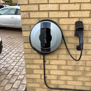 Pod-point charger by JPEV