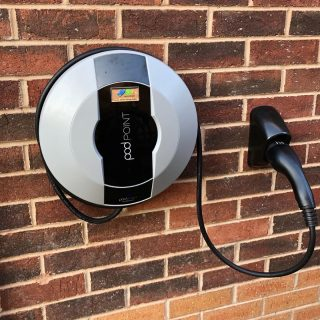 Installed a couple of Pod-point car chargers this week. A tethered unit in Colton with 7.5mts of reach, and a socketed unit within a garage at Scarcroft. Both installs OLEV approved to benefit from the £350 grant government funding, all arranged by JPEV to get the best for our customers. #carchargers #carchargersinleeds #electriccarcharger #car_chargers_in_leeds #jpev #jpevleeds #carcharging #podpointinstaller #podpoint #electricianleeds #leedselectrician #methley #colton #scarcroft #coltoncarcharger #scarcroftcarcharger